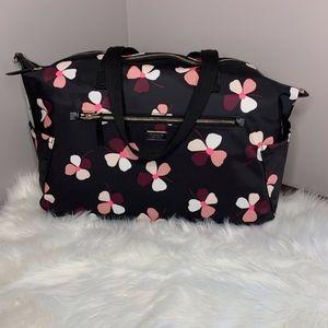 NWT Kate Spade Weekender Bag – Dusk Buds – Black